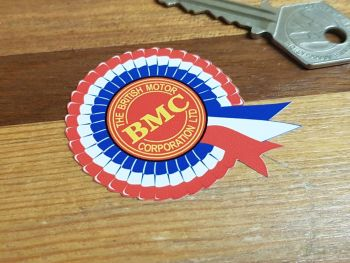 "BMC Rosette Static Cling Stickers 2"" Pair"