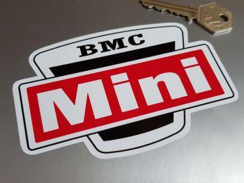 "BMC Mini Tractor Stickers 5"" Pair"