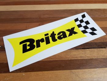 """Britax Waisted Extra Large Yellow & Check Sticker. 24""""."""
