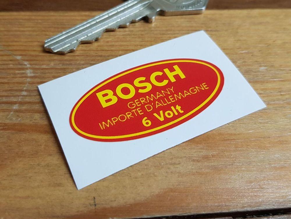 Bosch Germany Importe D'Allemagne 6 Volt Coil Sticker. 2