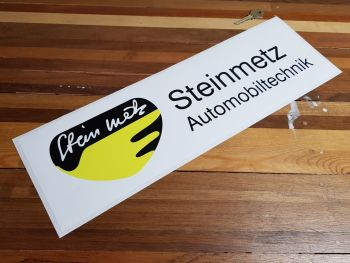"""Steinmetz Automobiltechnik Sticker 18.5"""""""