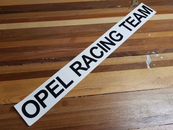 "Opel Racing Team Cut Vinyl Sticker 23.5"""