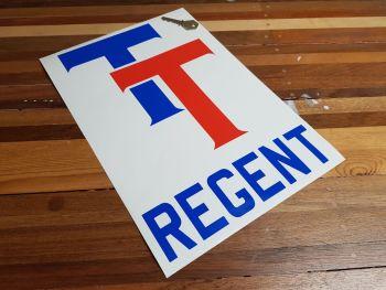 """Regent TT Cut Vinyl Sticker 13.5"""""""