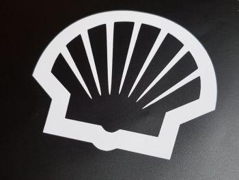 """Shell Modern Logo Cut Vinyl Sticker 12"""""""