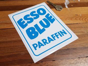 "Esso Blue Paraffin Lighter Blue Sticker 6"""
