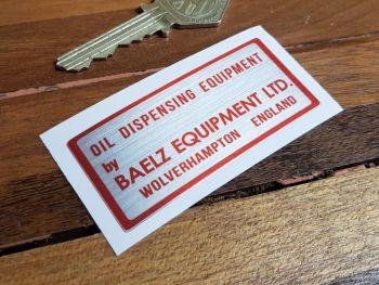 "Oil Dispensing Equipment by Baelz Equipment Ltd Sticker - 2.75"""