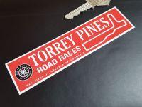 Torrey Pines Road Races SCCA Sticker 5.5