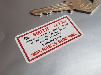 The Smith Air Filter Sticker 2""