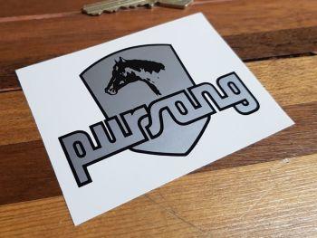 Bultaco Pursang Sidepanel Sticker 85mm