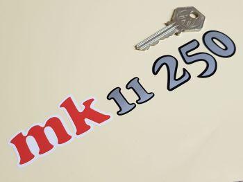 "Bultaco MK II 250 Stickers 7"" Pair"