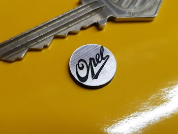 Opel Circular Self Adhesive Car Badge 14mm