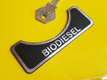 """Biodiesel Fuel Filler Self Adhesive Car Badge 4"""""""