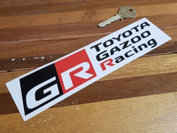 "Toyota Gazoo Racing Sticker 8"""
