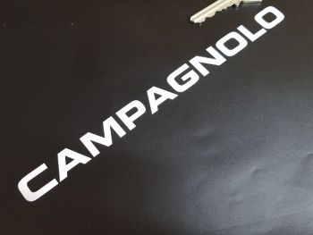 """Campagnolo Cut Vinyl Text Stickers 8"""" Pair"""
