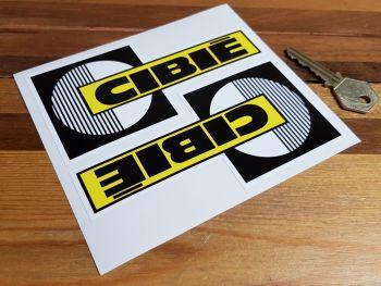 """Cibie Spotlamp Stickers. 5.5"""" Pair."""