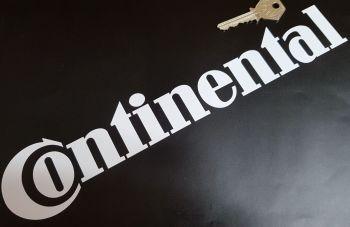 "Continental Tyres Cut Vinyl Sticker 12"""