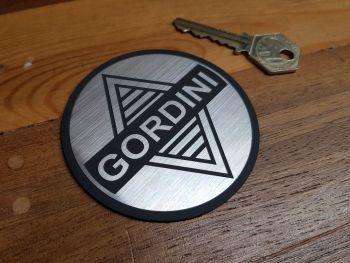 Gordini Logo Style Self Adhesive Laser Car Badge - 25mm or 80mm