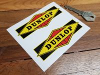 Dunlop Old Style Diamond Detail Stickers - 4
