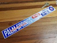 Palm Springs Sports Car Races Sticker 12