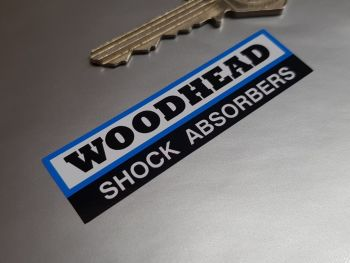 "Woodhead Shock Absorbers Stickers 2.5"" Pair"