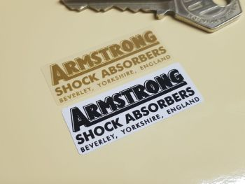 "Armstrong Shock Absorbers Stickers 1.5"" Pair"