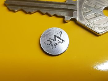 Matchless Circular Self Adhesive Bike Badge 14mm