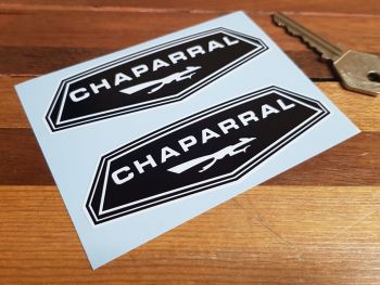 """Chaparral Stickers 4"""" Pair"""