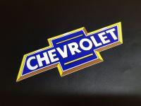 Chevrolet Blue & Yellow Classic BowTie Sticker 11.5