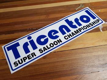 """Tricentrol Super Saloon Championship Sticker 18"""""""