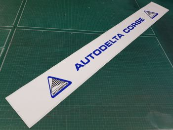 "Autodelta Corse Sunstrip Screentop Sticker 52"""