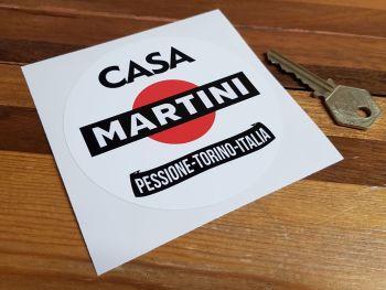 """Martini Casa Pessione-Torino-Italia Sticker 4"""""""