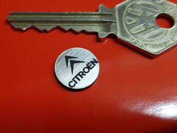 Citroen Circular Self Adhesive Car Badge 14mm