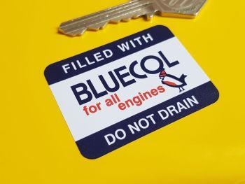 "Bluecol Anti-Freeze For All Engines Robin Radiator Sticker 2"""