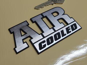 """Air Cooled Laser Cut Self Adhesive Car Badge 4.25"""""""