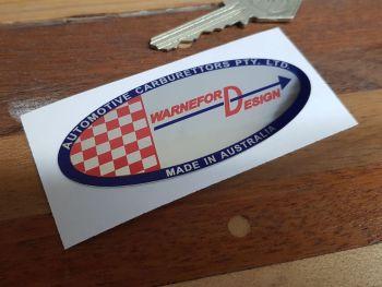 Warneford Design Sticker 85mm