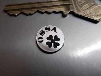 OSSA Circular Self Adhesive Bike Badge 14mm