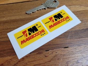 """Marzocchi Bologna Italy S.p.A Stickers - 1.75"""" Pair"""