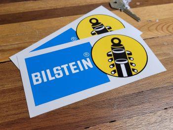 """Bilstein Later Logo Stickers 6"""" Pair"""