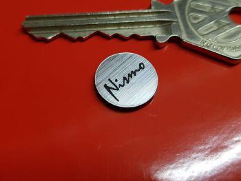 Nismo Nissan Circular Self Adhesive Car Badge 14mm