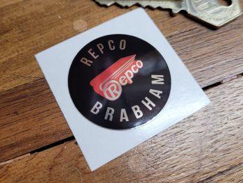 Repco Brabham F1  Circular Foil Sticker - 38mm or 44mm