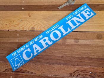 "Radio Caroline Sound of the Nation Window Sticker 12"""