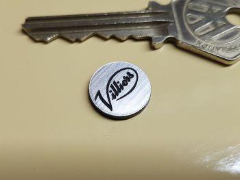 Villiers Circular Self Adhesive Bike Badge 14mm