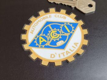 """ACI Automobile Club D'Italia Sticker 3"""""""