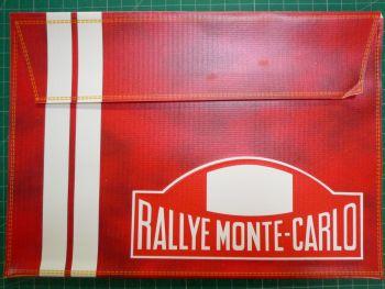 "RALLYE MONTE-CARLO Document Holder Folder Bag - 10X7"" - Slight Second"