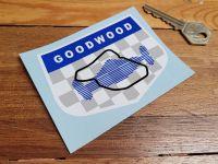 Goodwood Les Leston Style Sticker 3.5