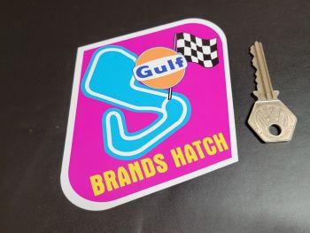 """Brands Hatch Circuit Gulf Sticker 4"""""""