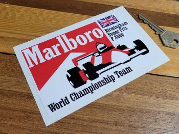 "Marlboro Birmingham Super Prix F3000 Sticker 5"""
