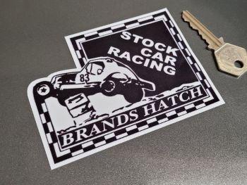 "Brands Hatch Stock Car Racing Sticker 4.5"""