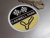 Cadwell Park Circular Sticker 2.5