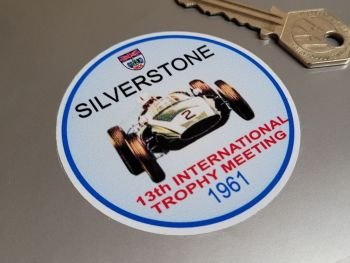 "Silverstone International Trophy 1961 Sticker 2.75"""